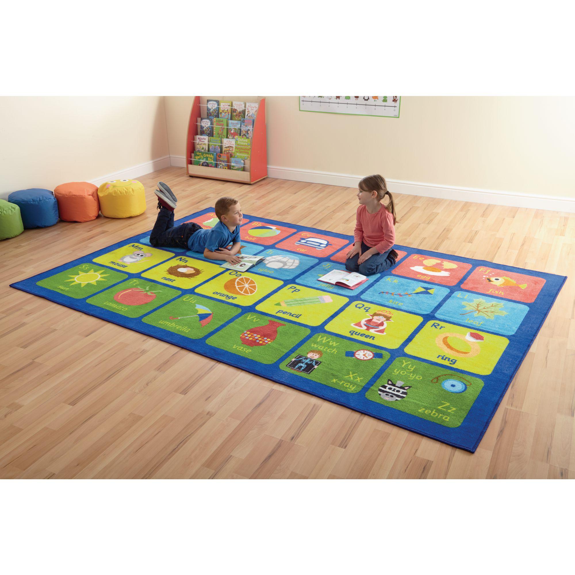 Alphabet Carpet Gls Educational Supplies