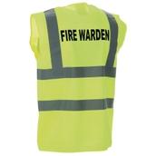 Fire Warden Waistcoat - Medium