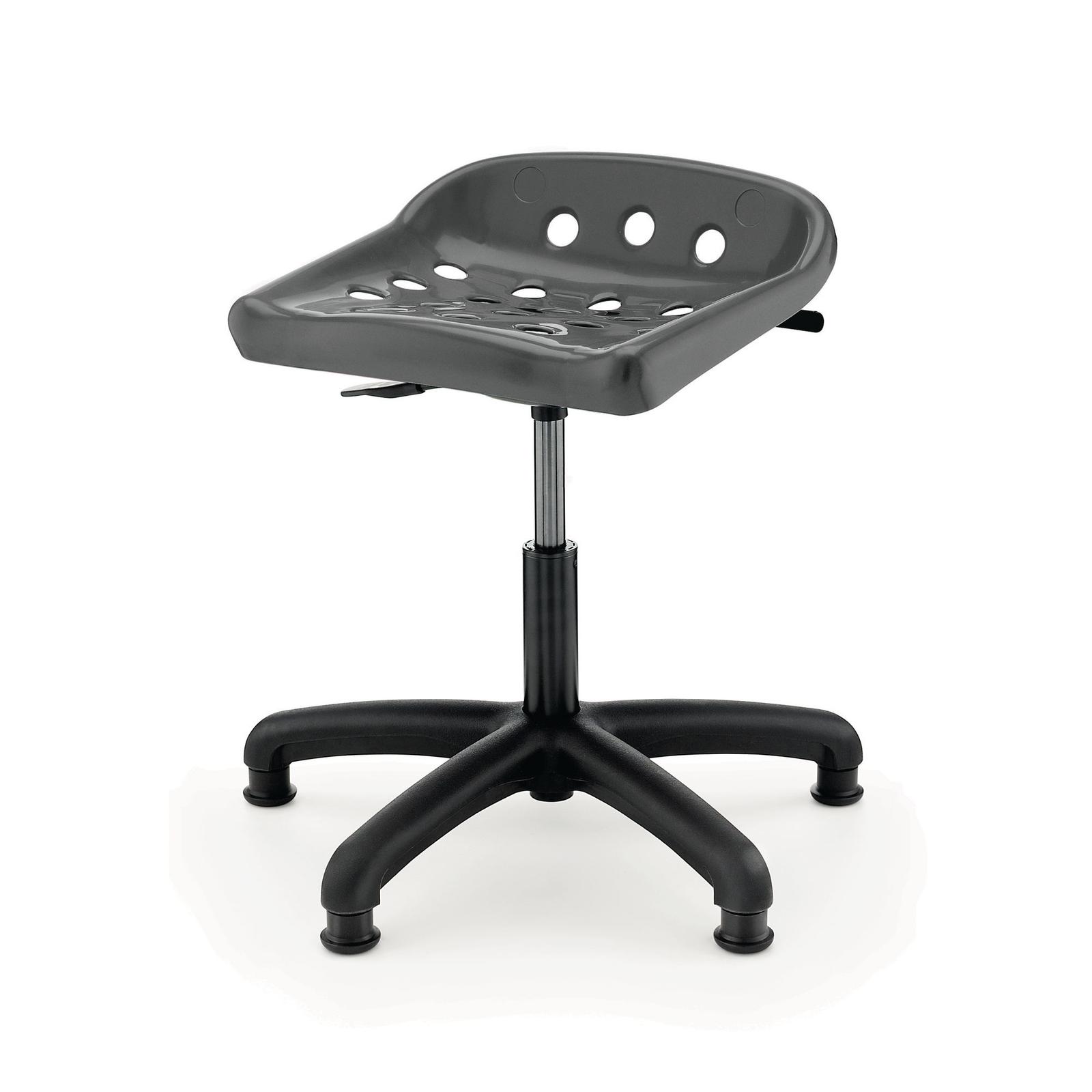 Pepperpot Swivel Chair - Grey