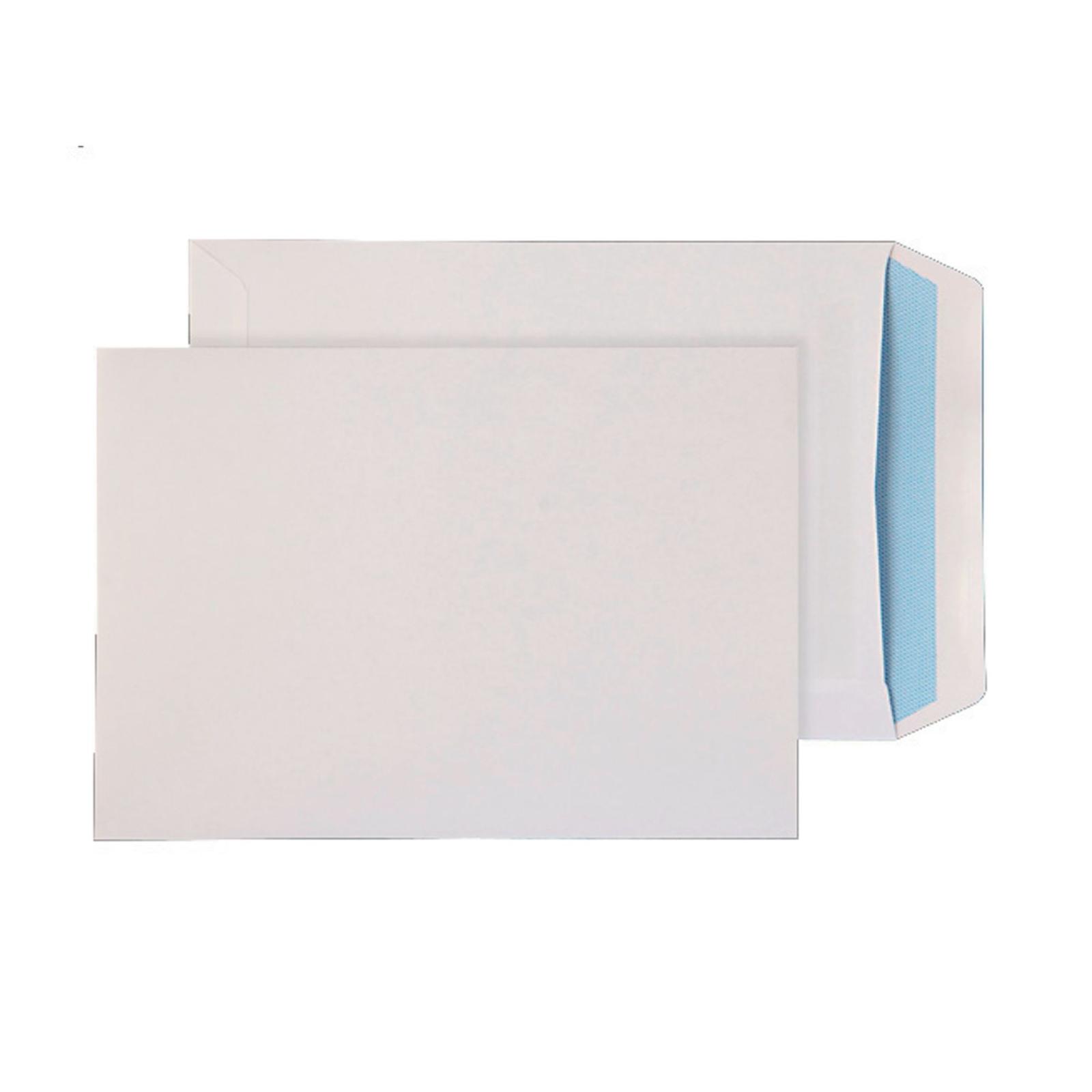C5 White Self Seal Pocket Envelopes - Pack of 25