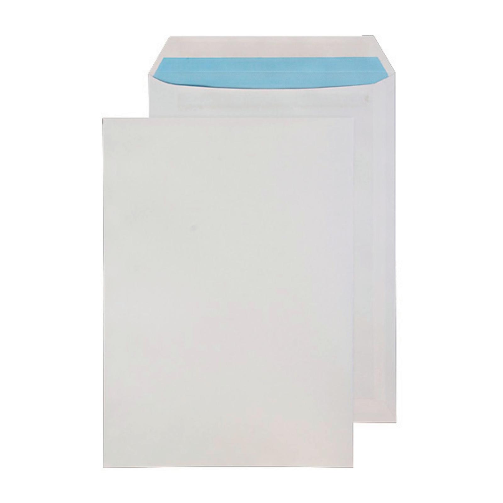 C4 White Self Seal Pocket Envelopes - Pack of 25