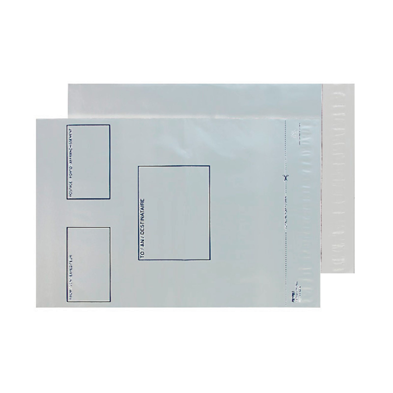 DX White Secure Peel and Seal Envelopes - Pack of 5