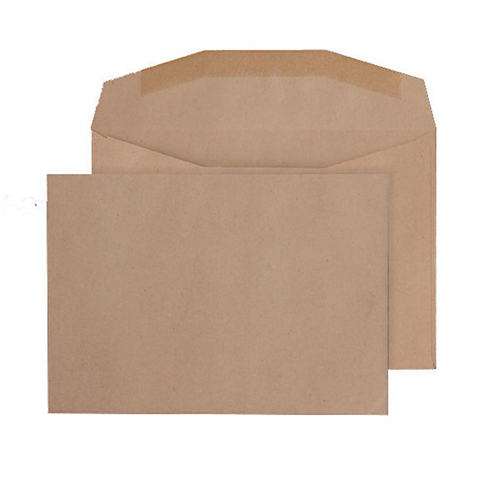 C6 Manilla Buff Gummed Pocket Envelopes - Box of 1000