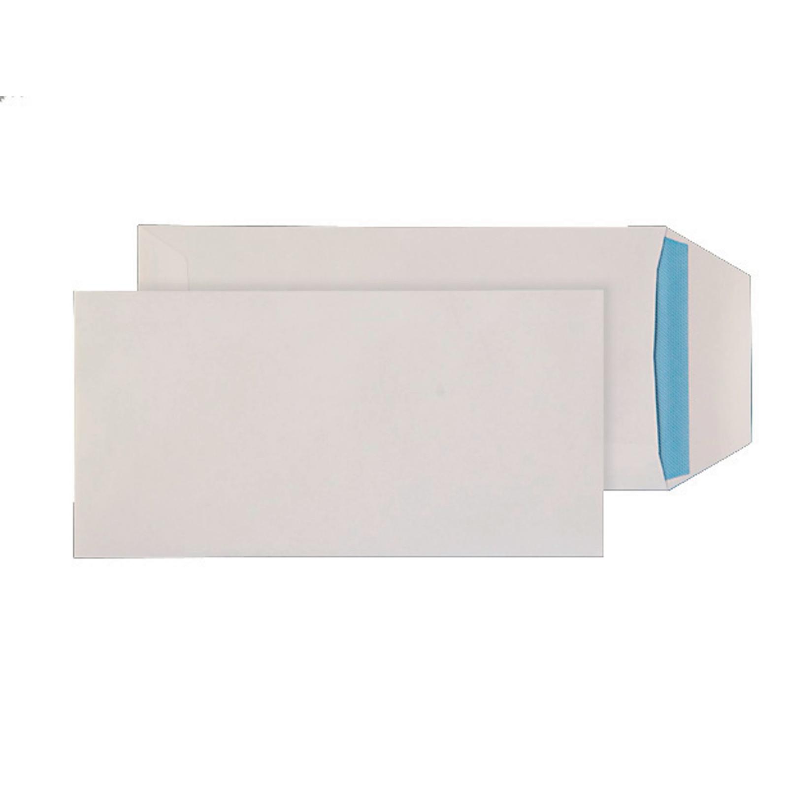 DL White Self Seal Pocket Envelopes - Box of 1000