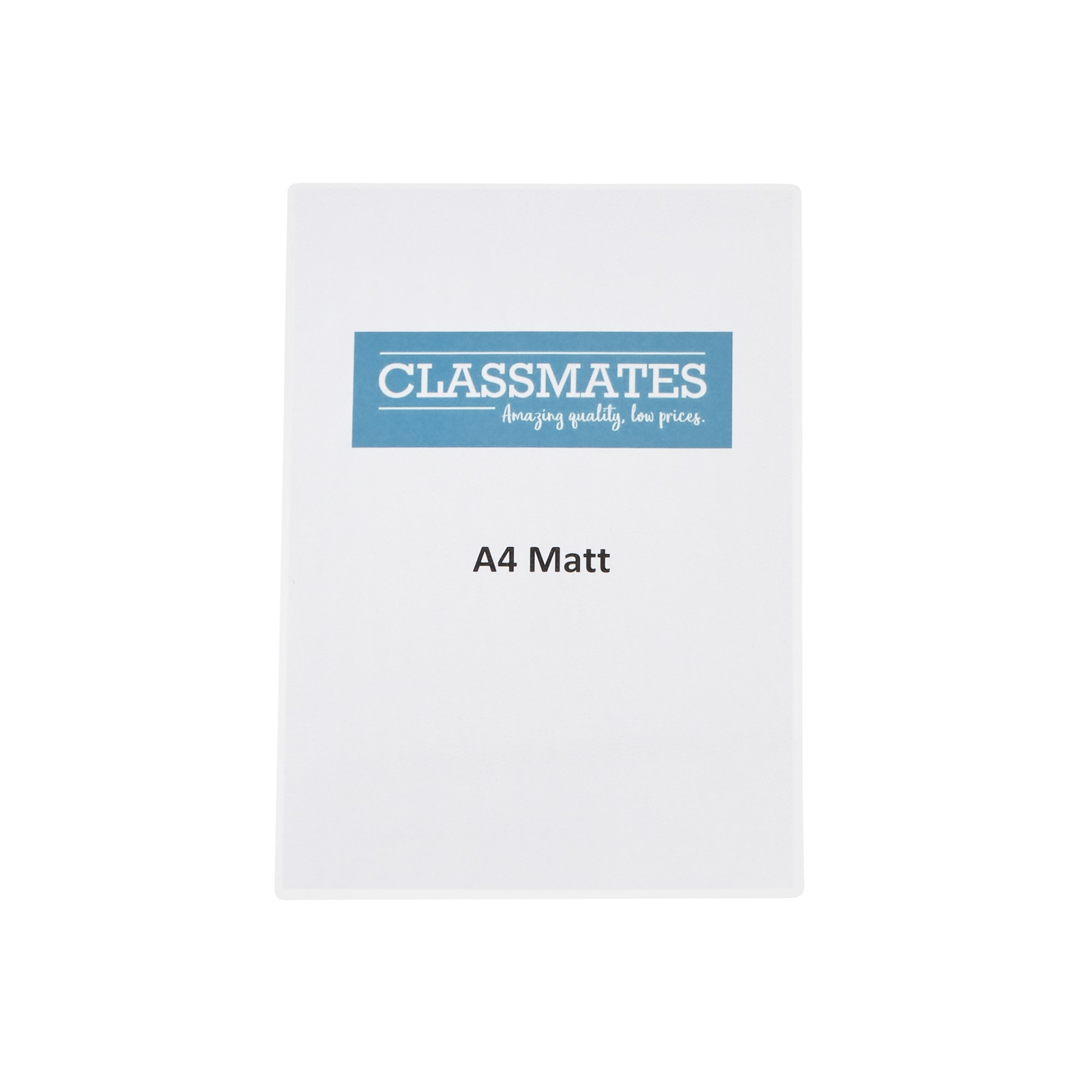 Classmates Laminating Pouches 250 Micron A3 Matt - Box of 100