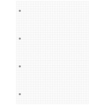 Pukka Pad Metallic Refill Pads - A4 - 160 pages - 5mm Squared, 4 Hole