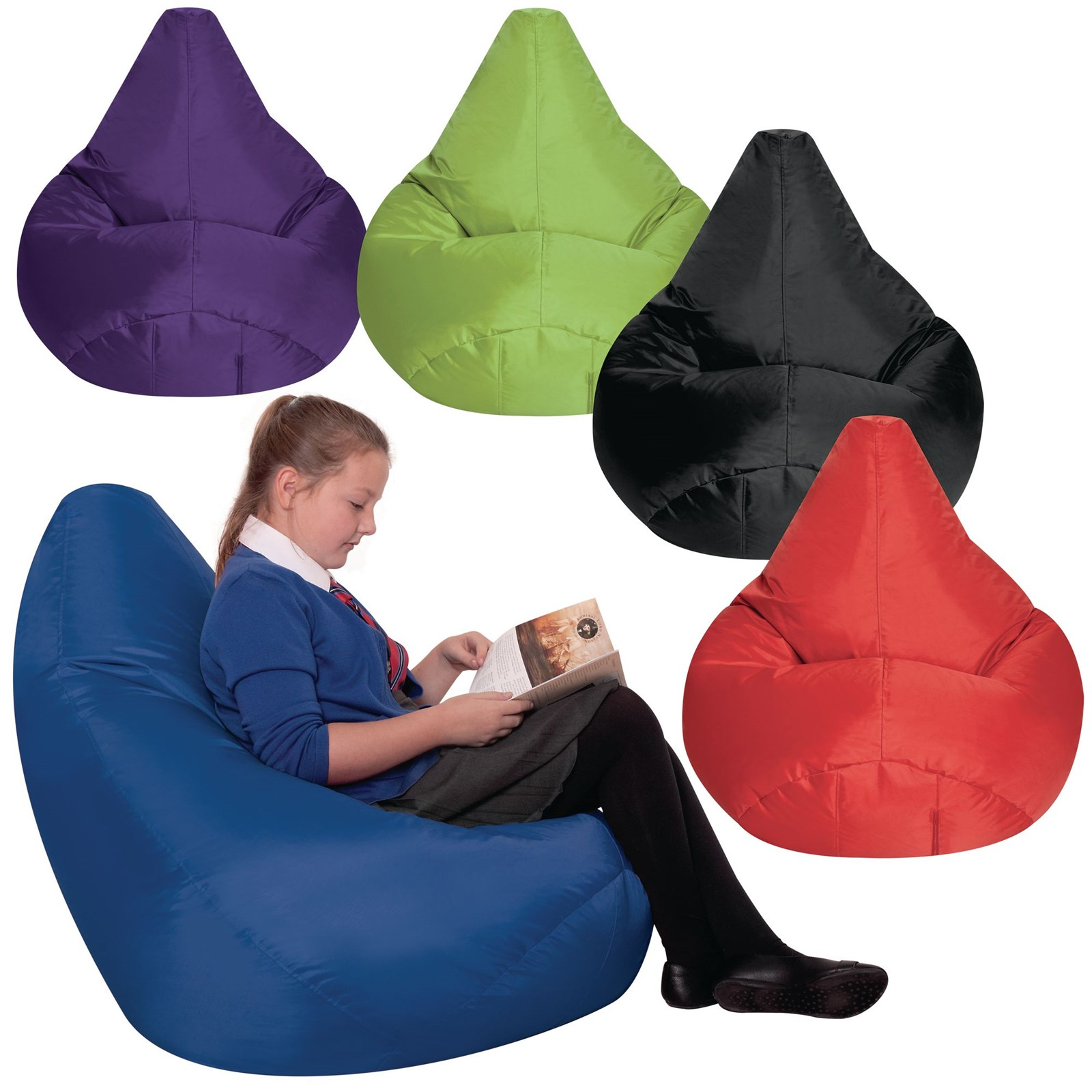 Large Reading Pods - Lime