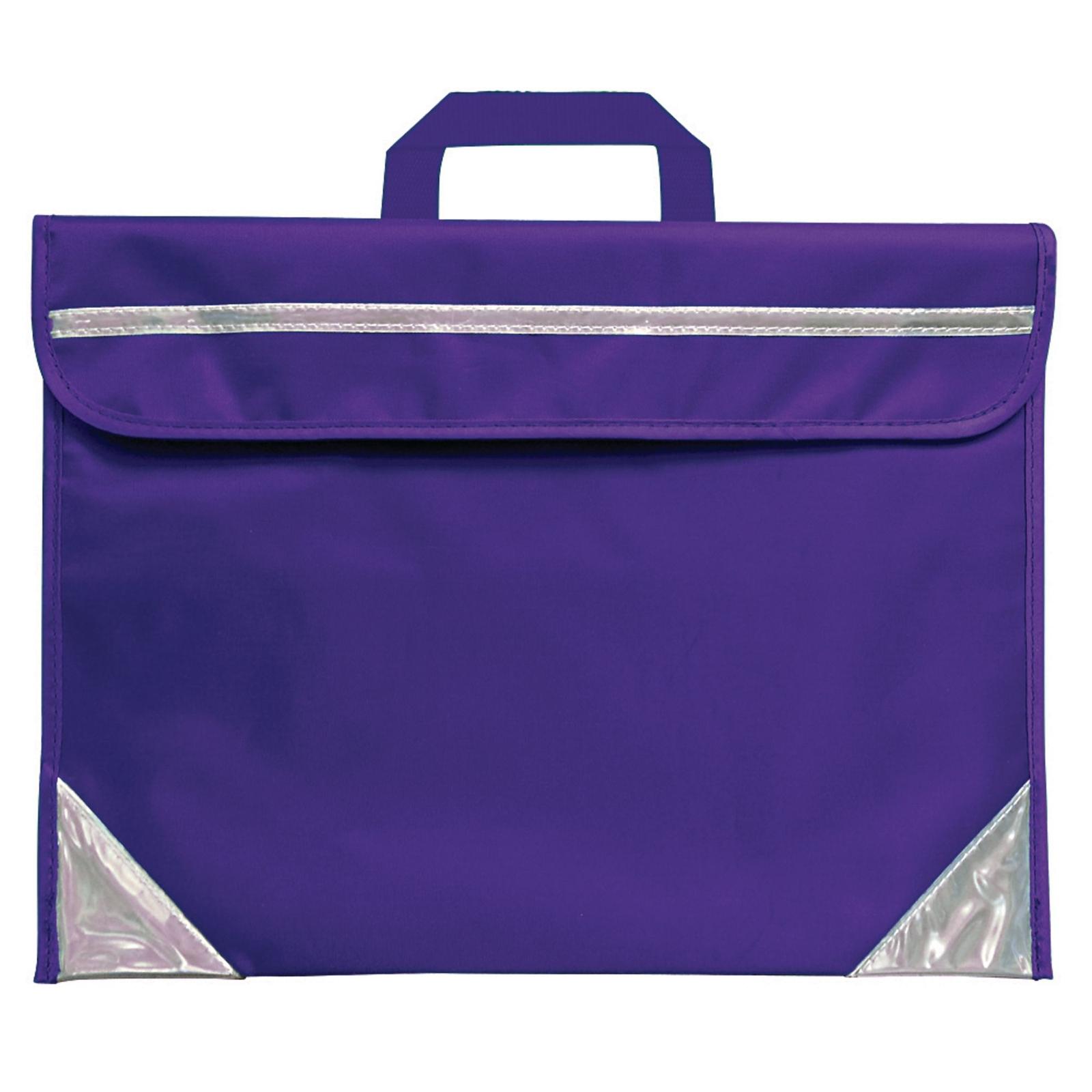Duo Book Bag Purple Pack Of 25 P25