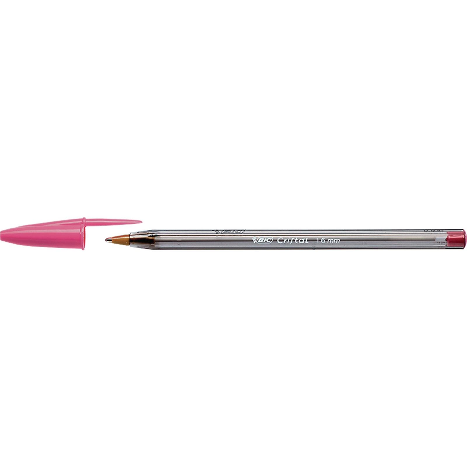 Bic Cristal Fun Ballpoint Pen Pink - Pack of 20