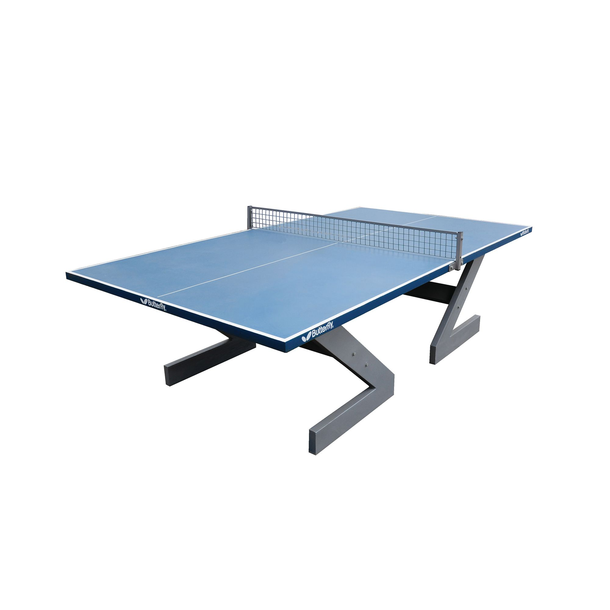Butterfly City Outdoor Table Tennis Table