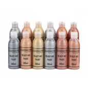 Classmates  Ready Mixed Paint in Metallic - Pack of 12 - 300ml Bottle