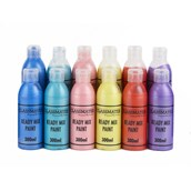 Classmates  Ready Mixed Paint in Pearlescent - Pack of 12 - 300ml Bottle