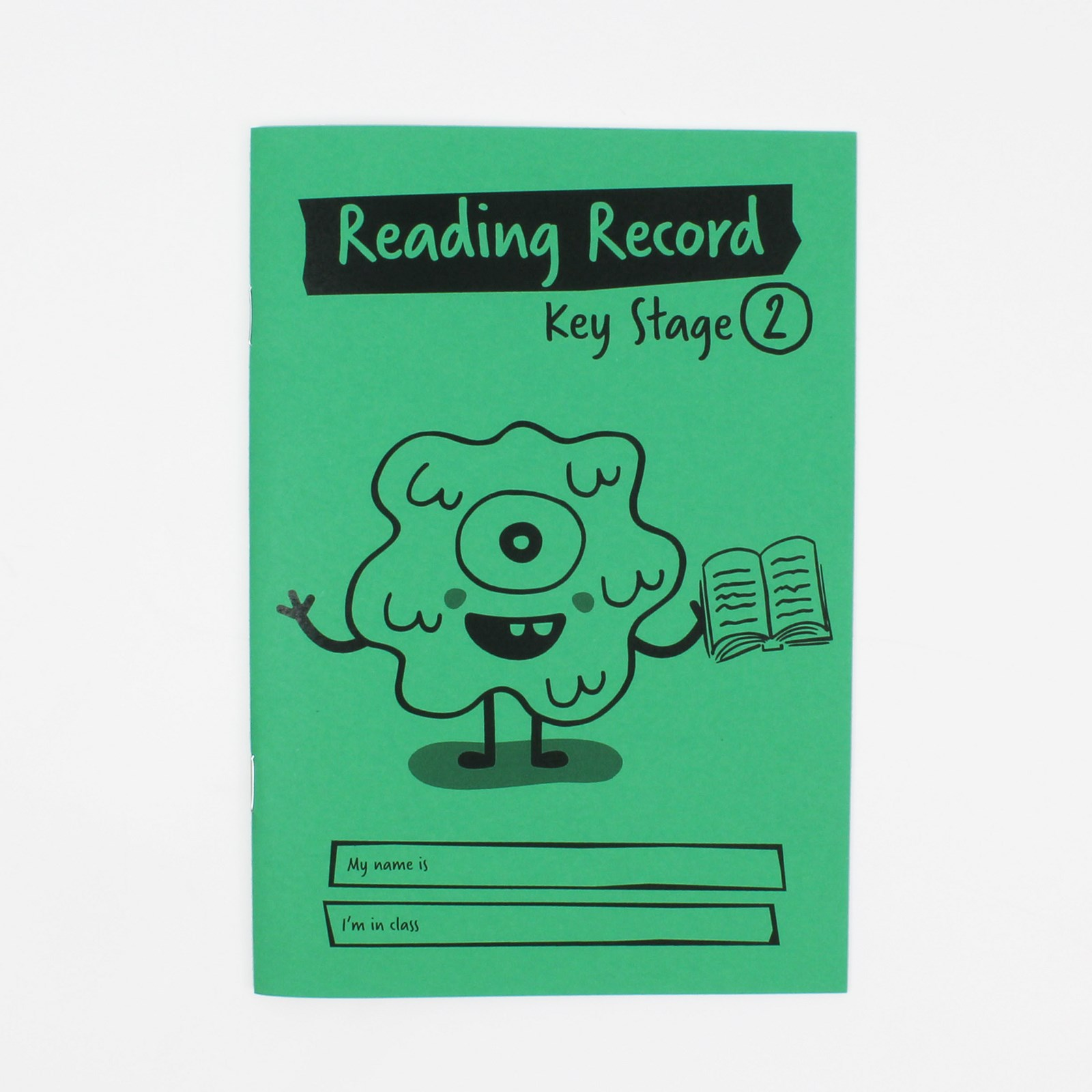Green A5 Reading Book 36-Page, Ruled - Pack of 30