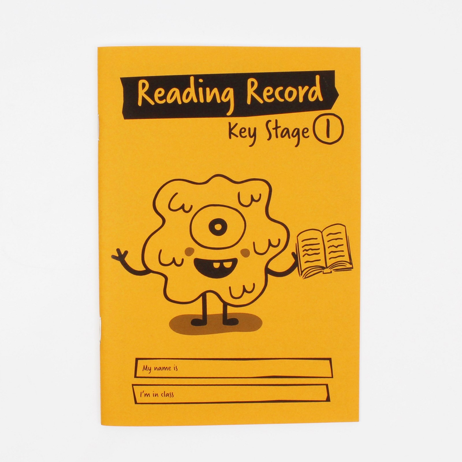 Orange A5 Reading Book 36-Page, Ruled - Pack of 30