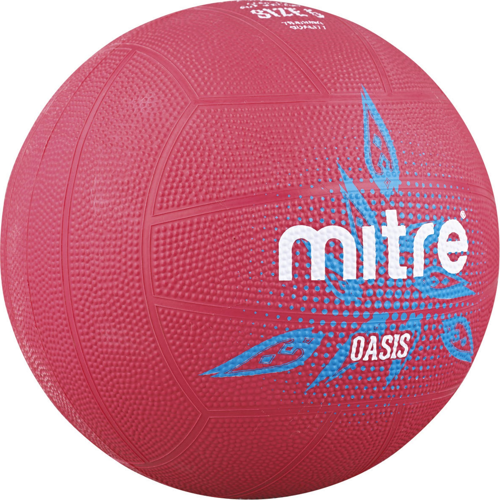 Mitre Oasis Netball - Size 4 - Pink
