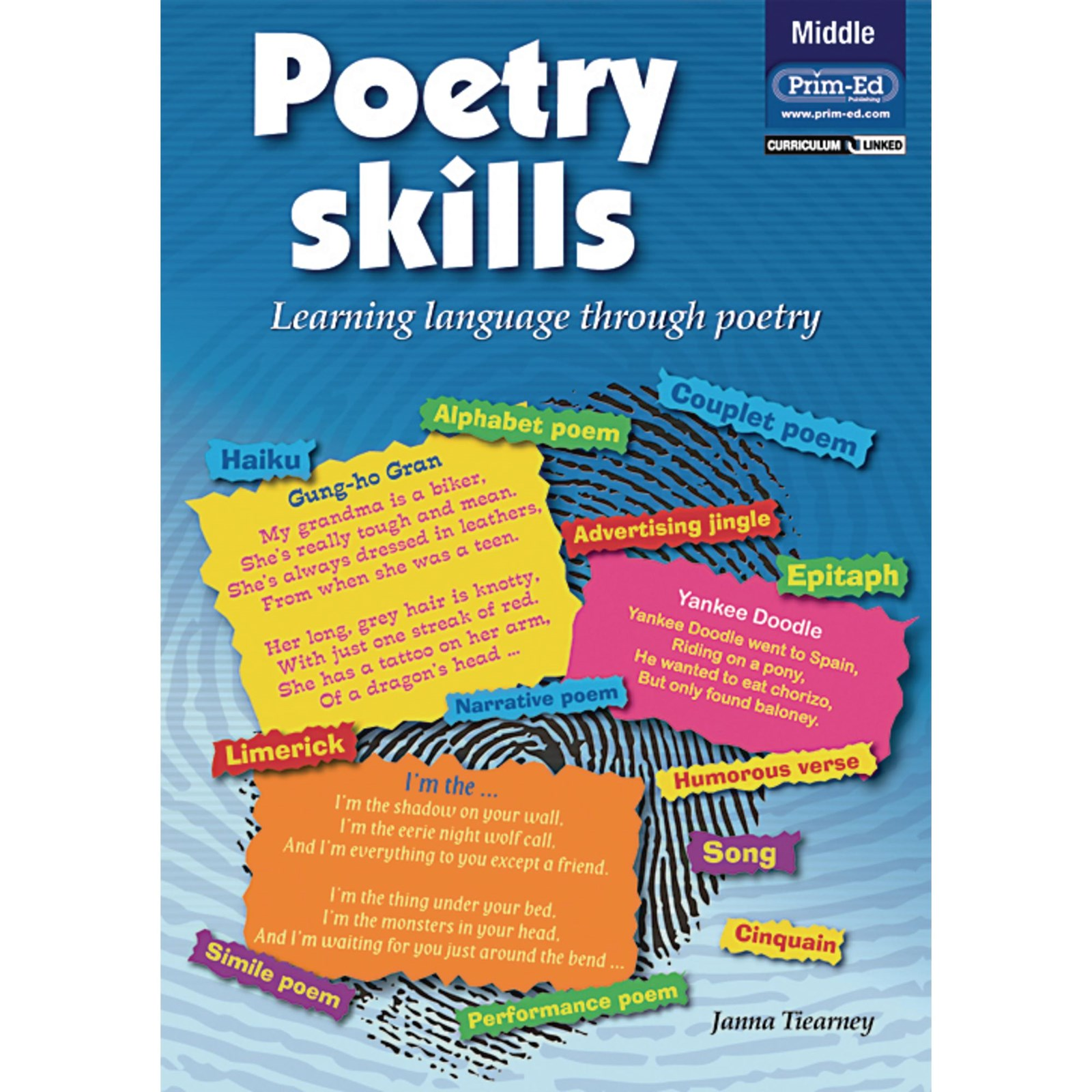 Poetry Skills - Middle - Age 8-10