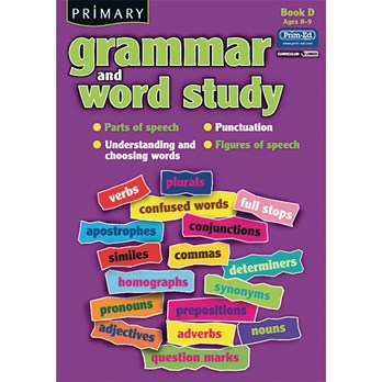 Grammar and Word Study Book D - Age 8-9