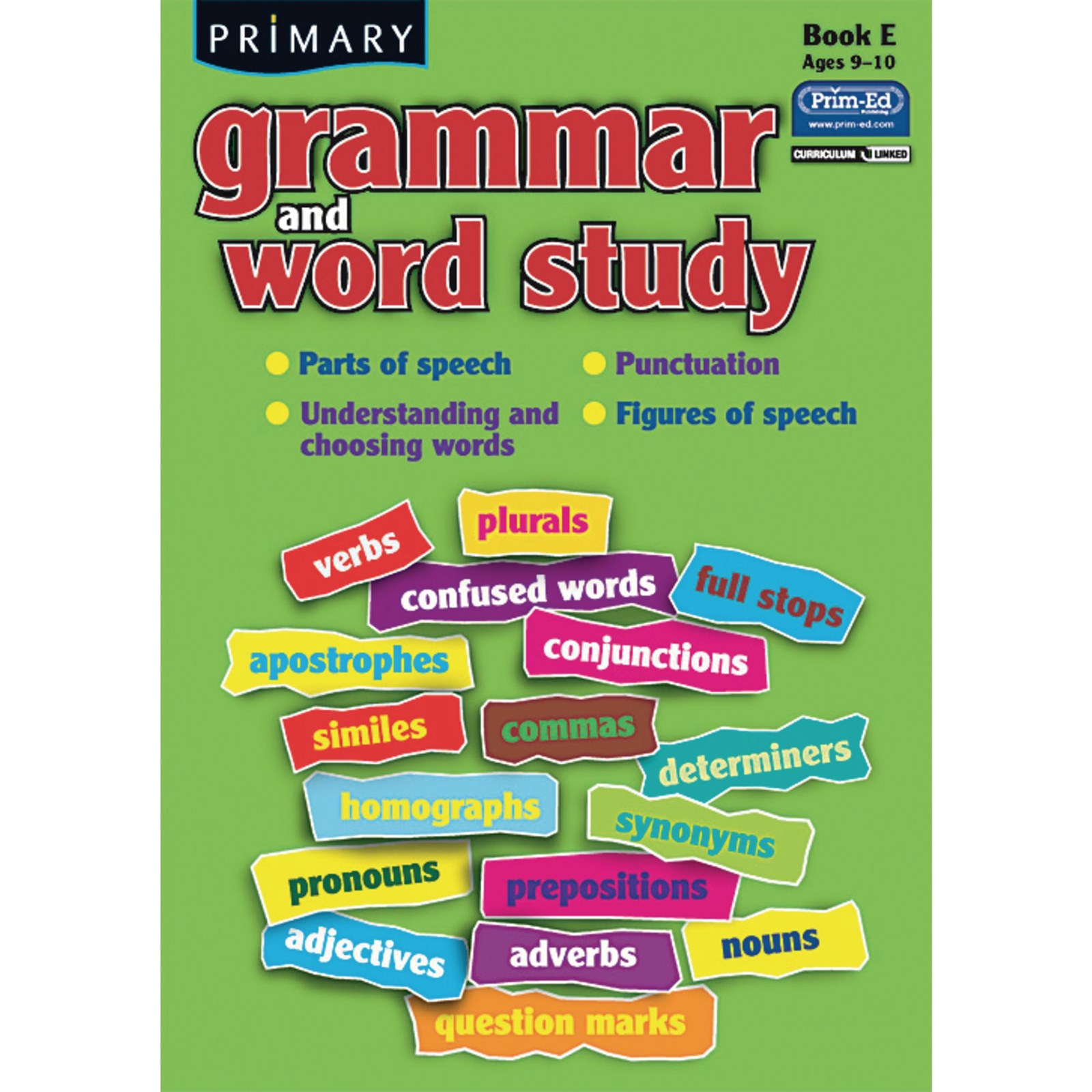 Grammar and Word Study Book E - Age 9-10