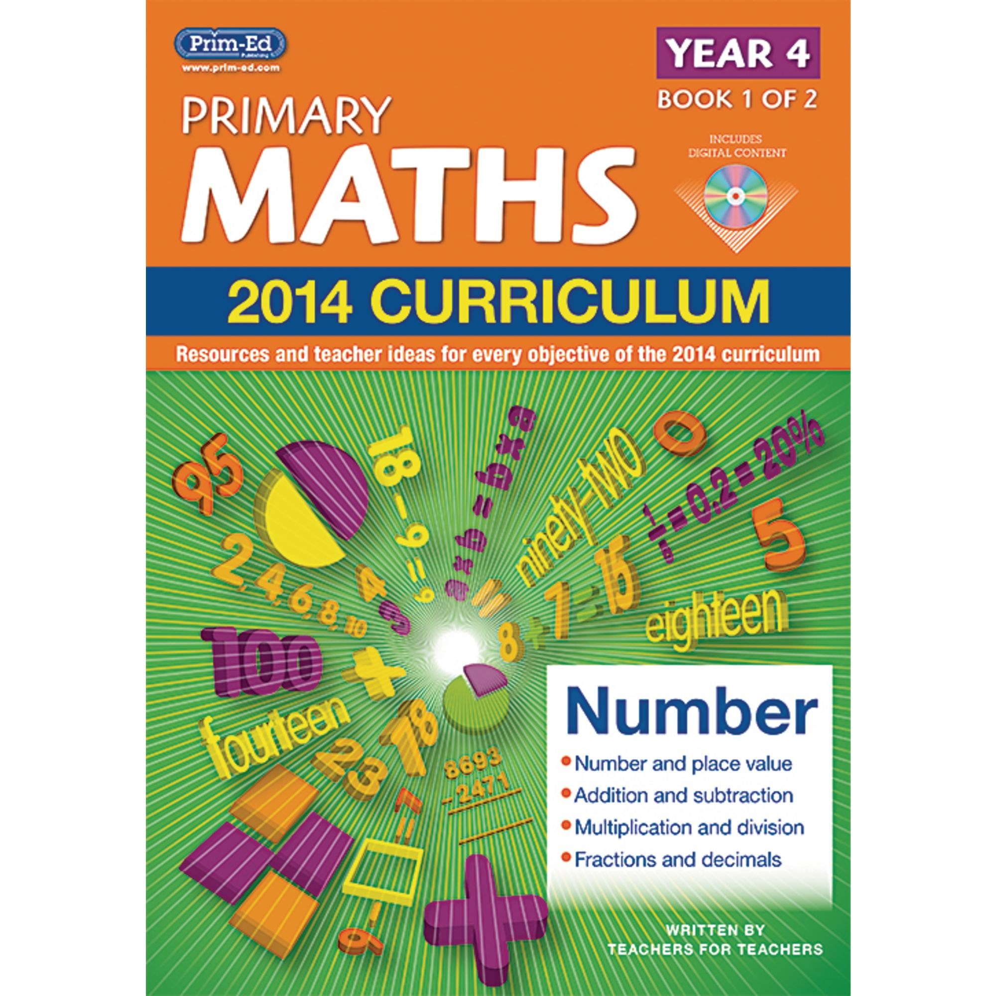 Primary Maths Books Yr 4 Book 1