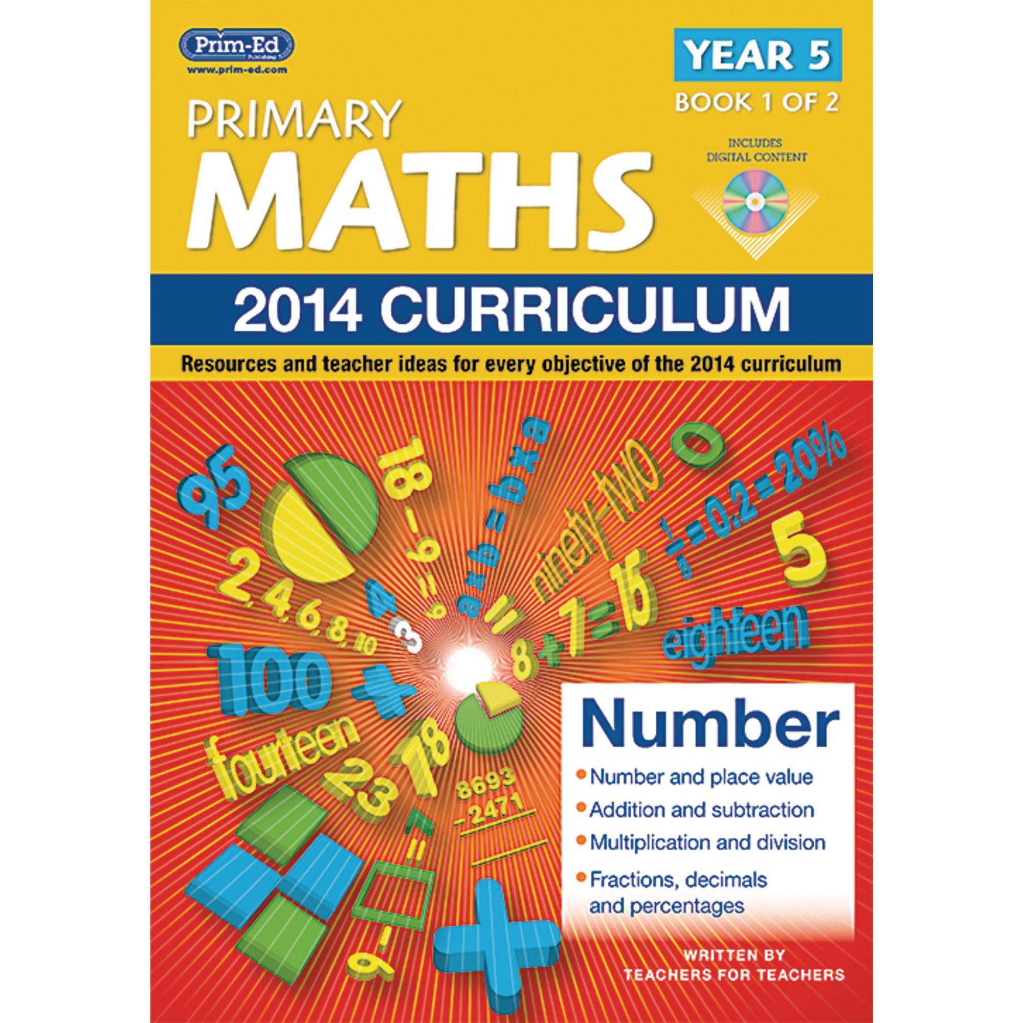 2014 Primary Maths Curriculum Book Year 5 - Book 1