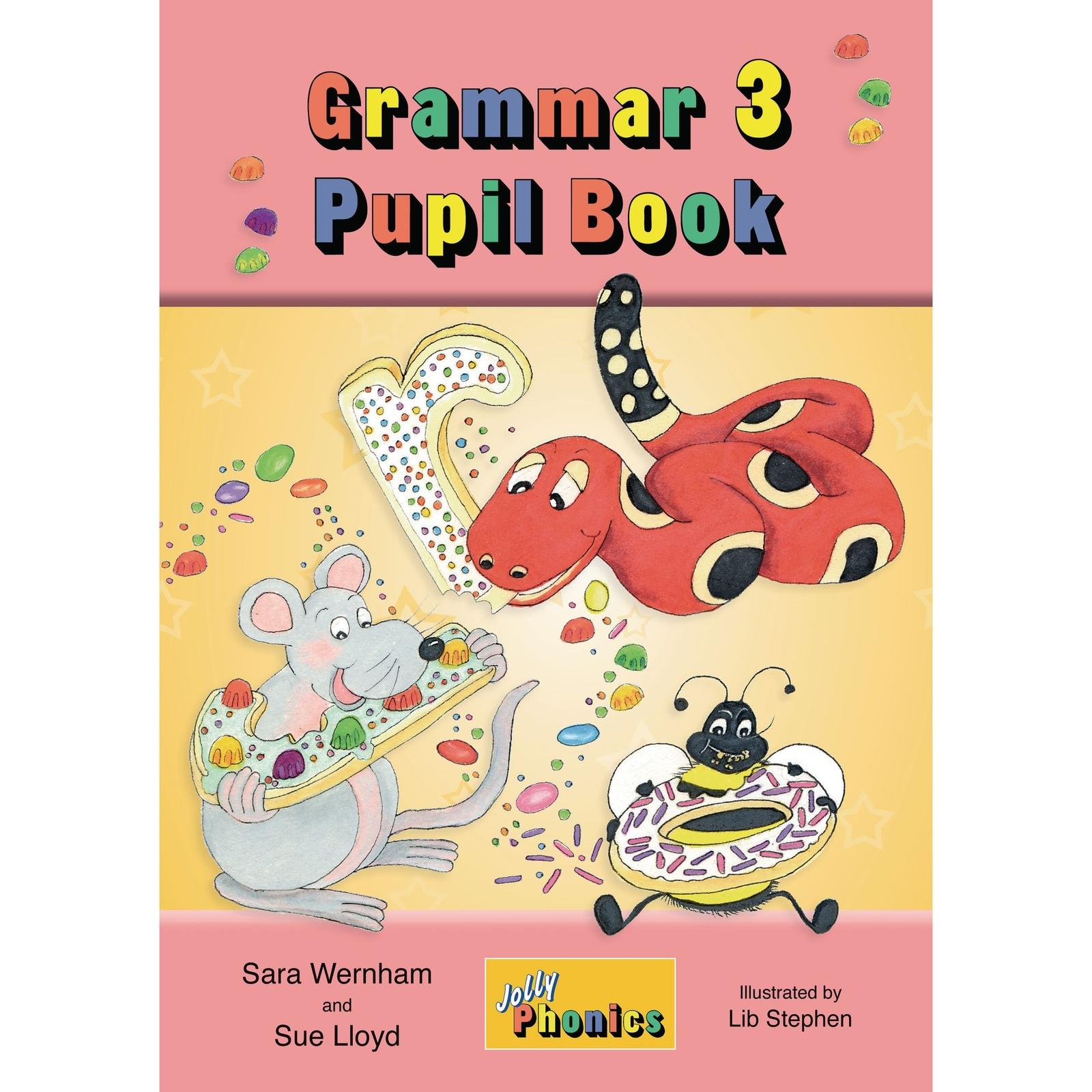 Jolly Phonics Grammar 3 Pupil Handbook - KS2
