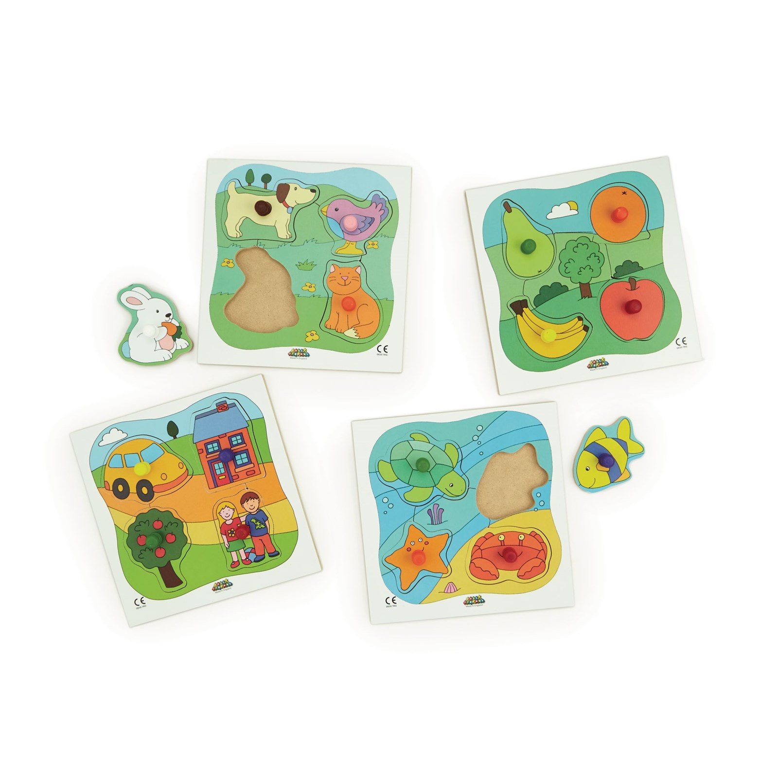 Early Years Peg Puzzles