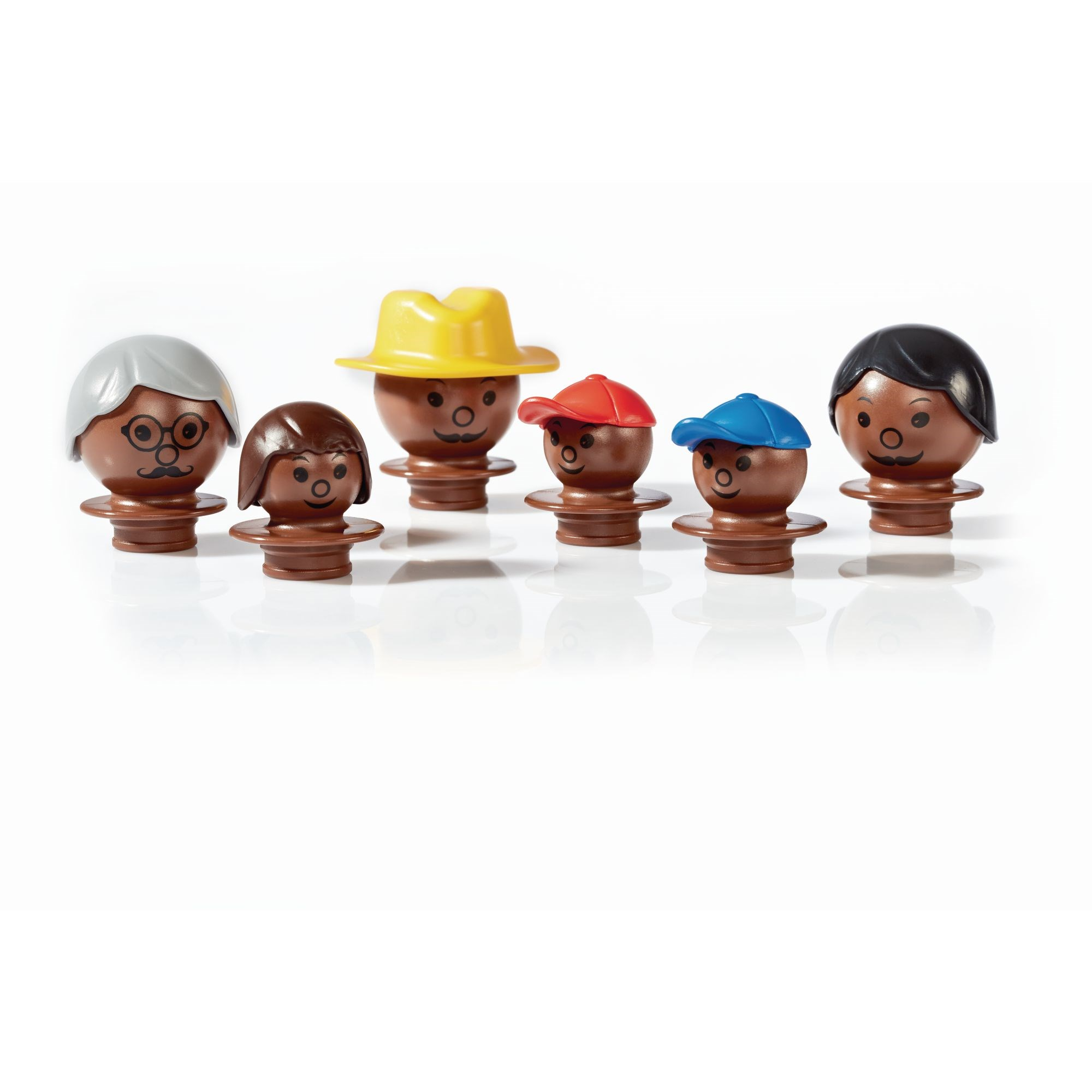 Mobilo 6 Mixed Figures -Black