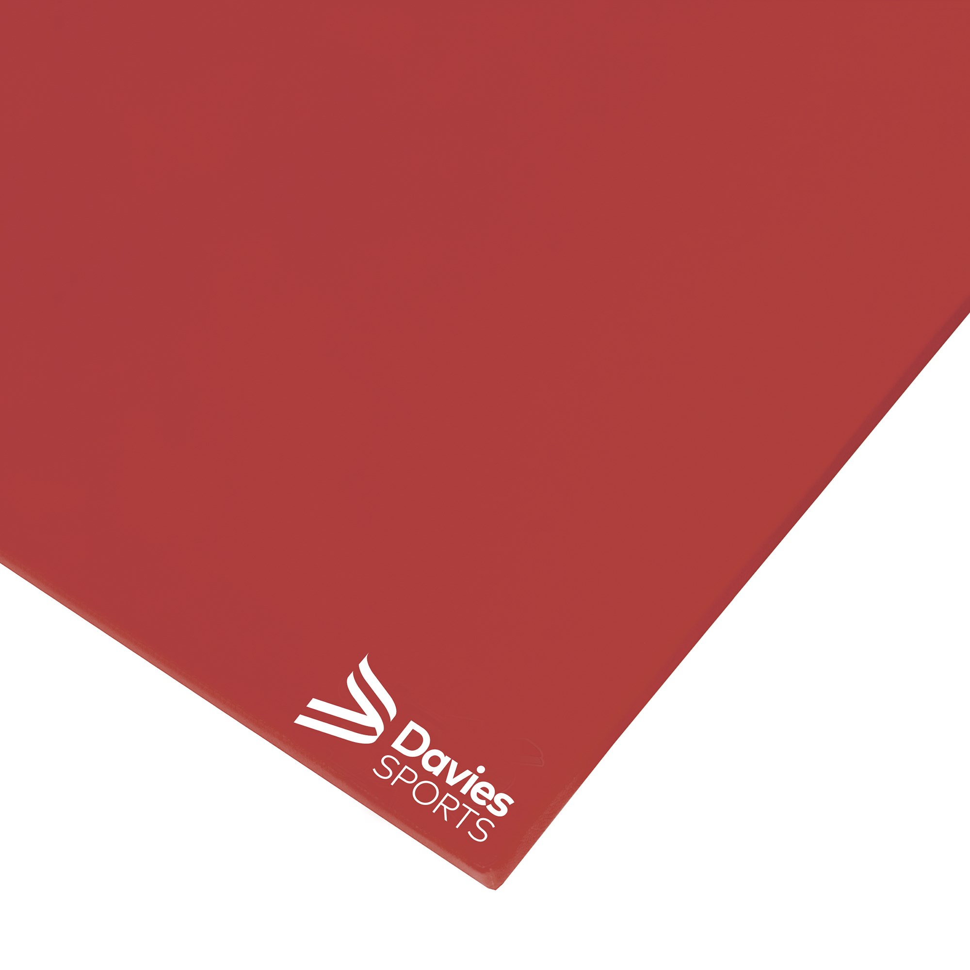 Davies Sports Medium Weight Gym Mat Rainbow Red - 1.83m x 1.22m x 32mm