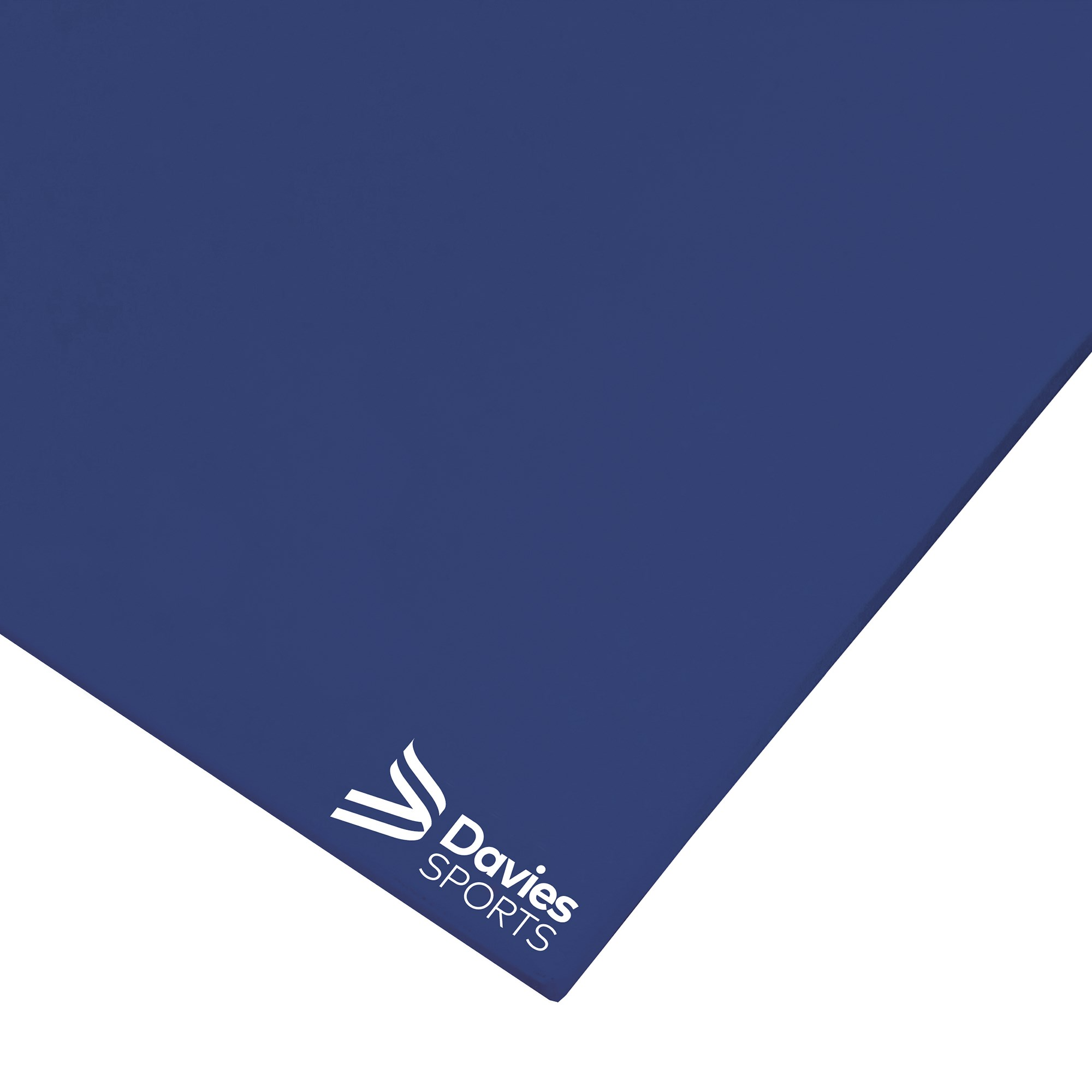 Davies Sports Lightweight Gym Mat Standard Blue - 1.83m x 1.22m x 32mm