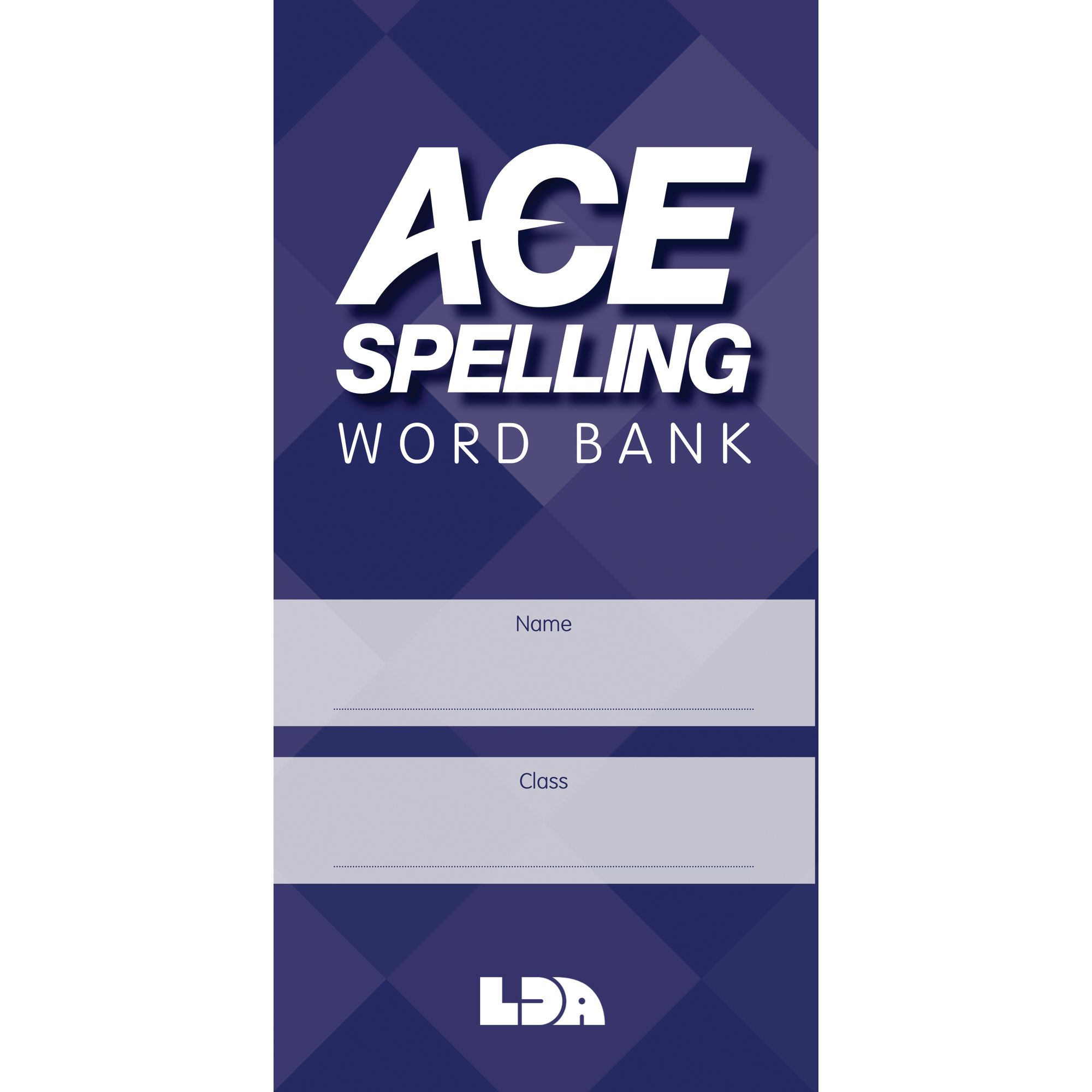 ace spelling word bank lda resources. Black Bedroom Furniture Sets. Home Design Ideas