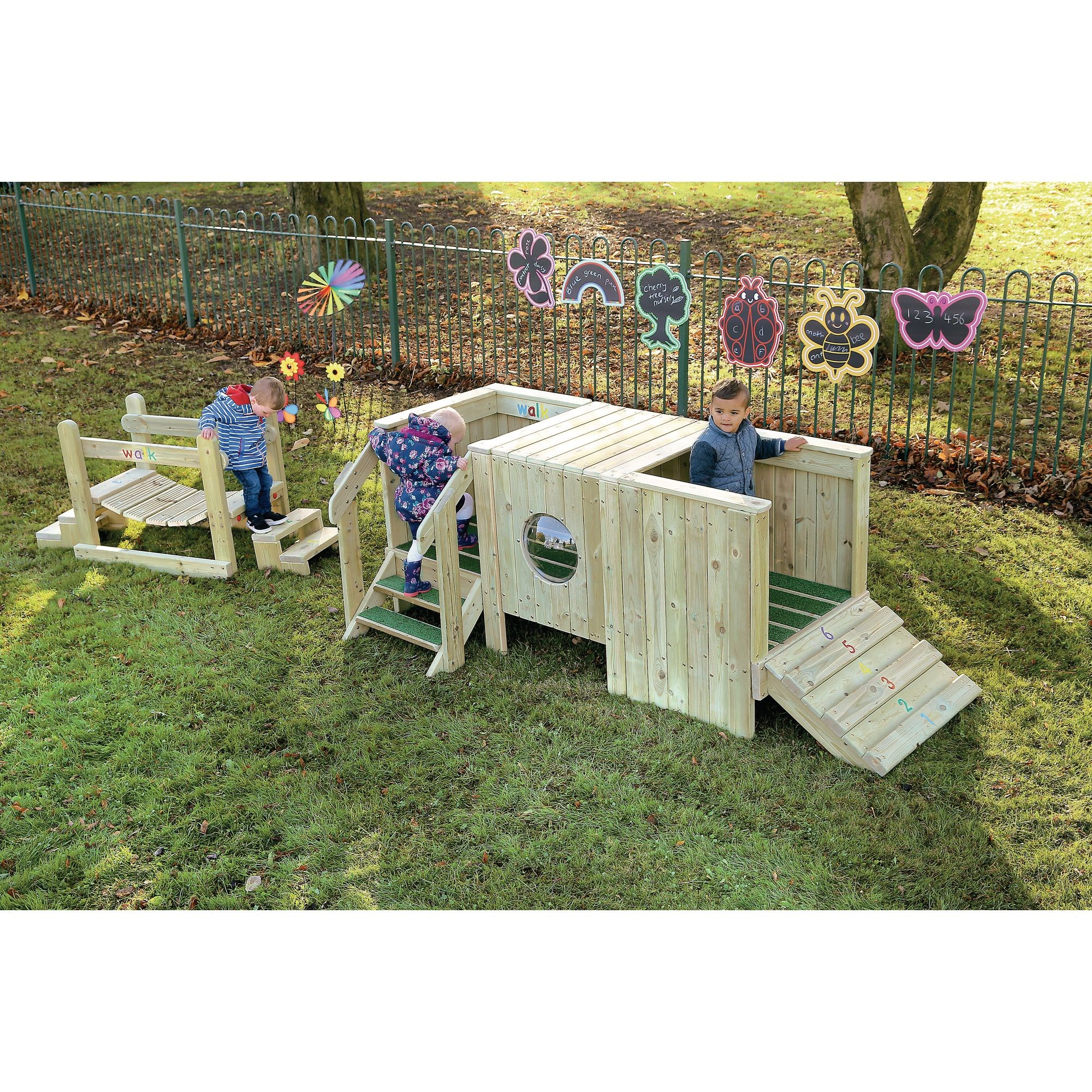 Outdoor Play Unit for Under 2s