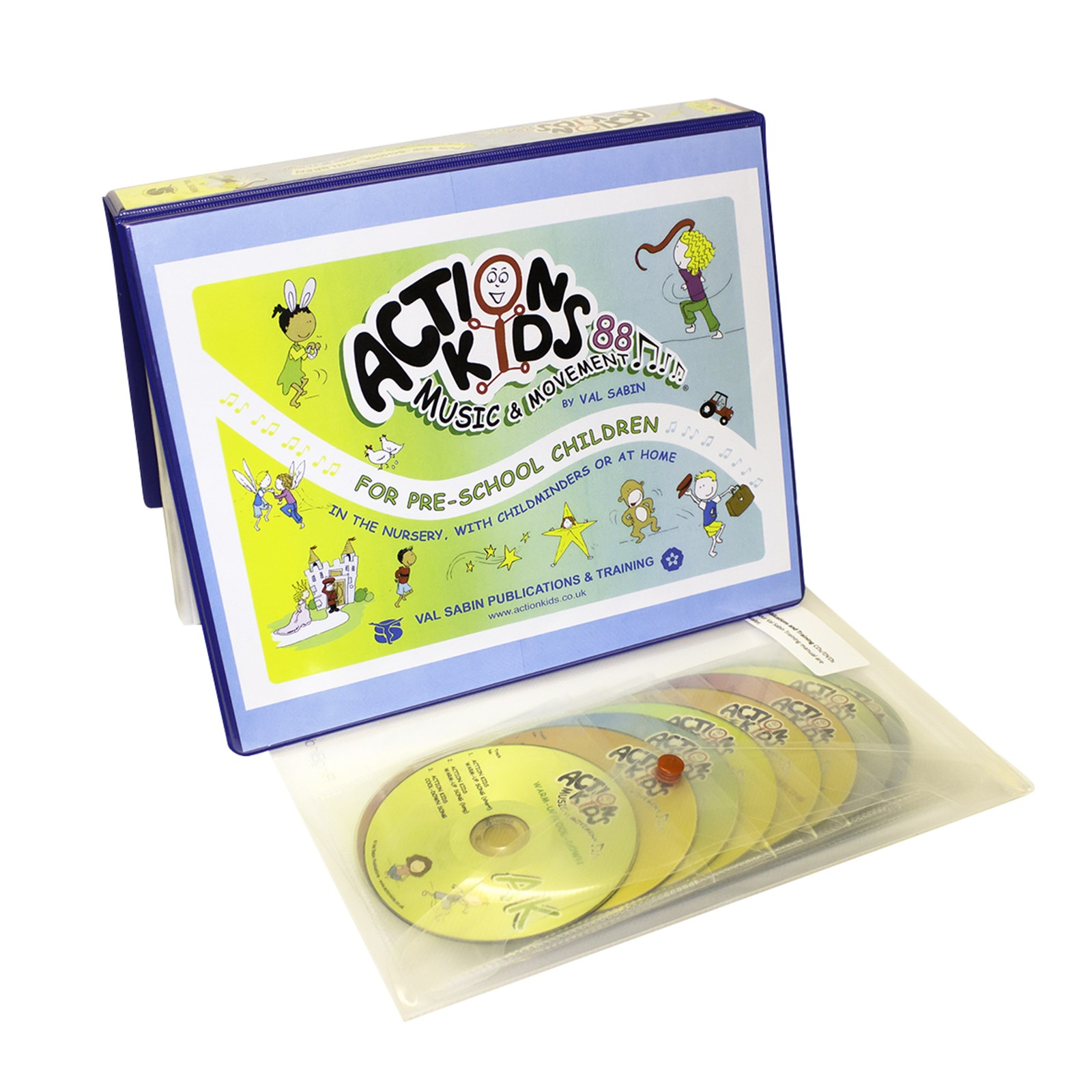 Action Kids 88 Music and Movement Teaching Manual