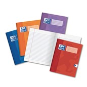 """9"""" x 7"""" (229 x 178mm) exercise books (Pack of 50) - Red"""