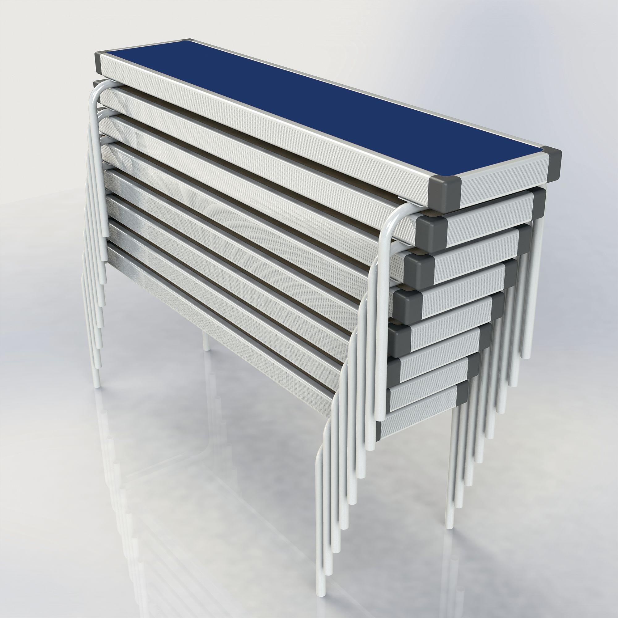 Rectangular Benches L1220 x H330 x W254mm White