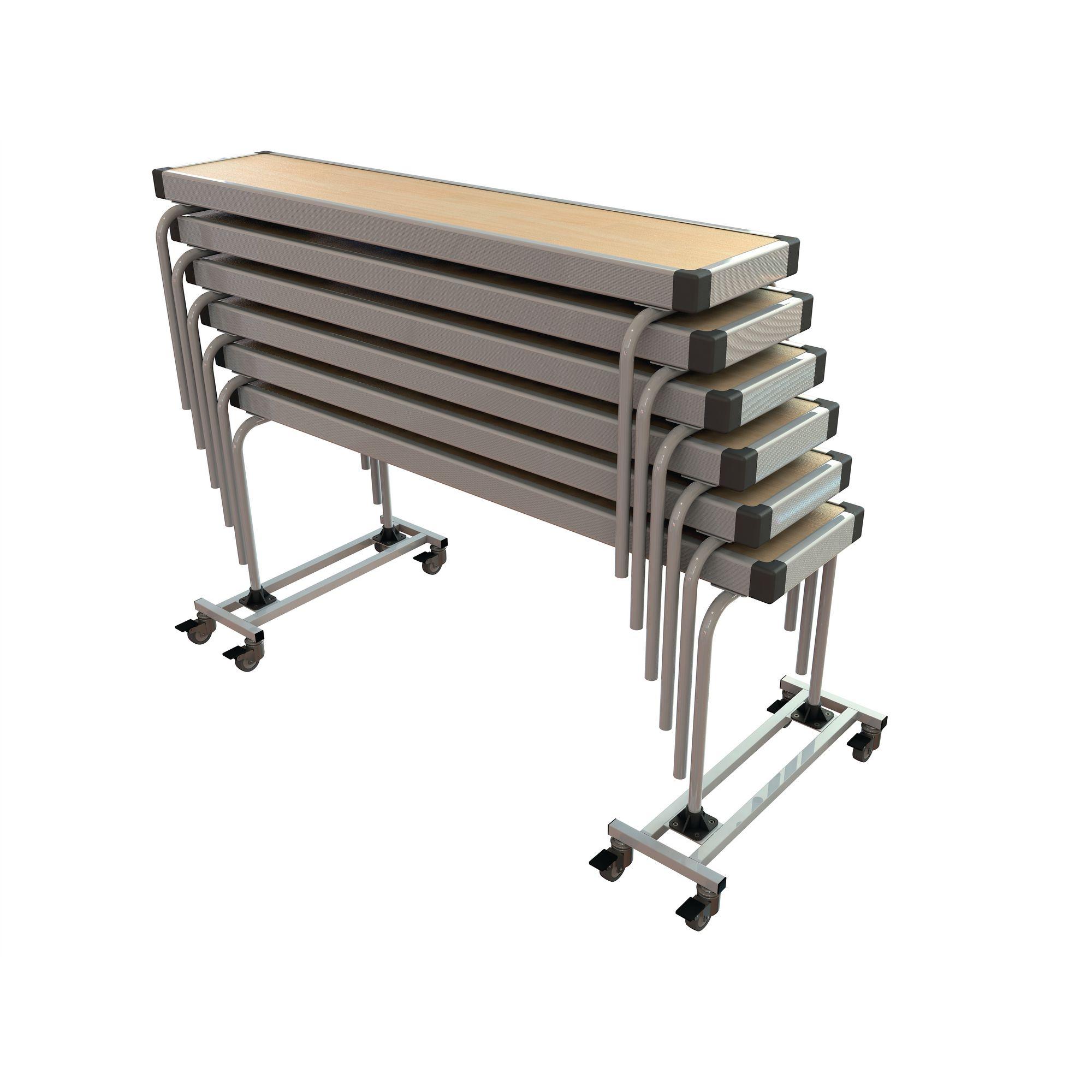 Rectangular Benches L1830 x H450 x W254mm Grey