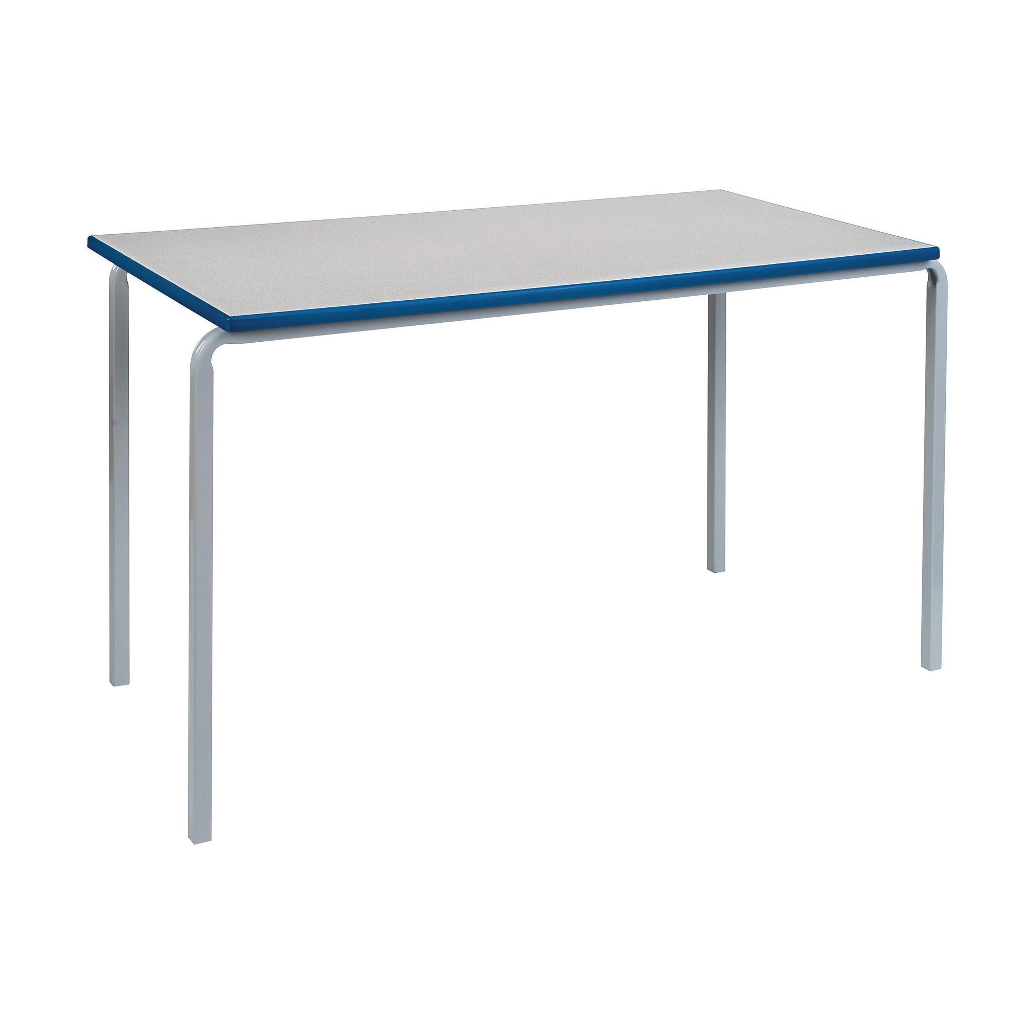 Rectangular Table 1200x600x530 W Light Grey Grey