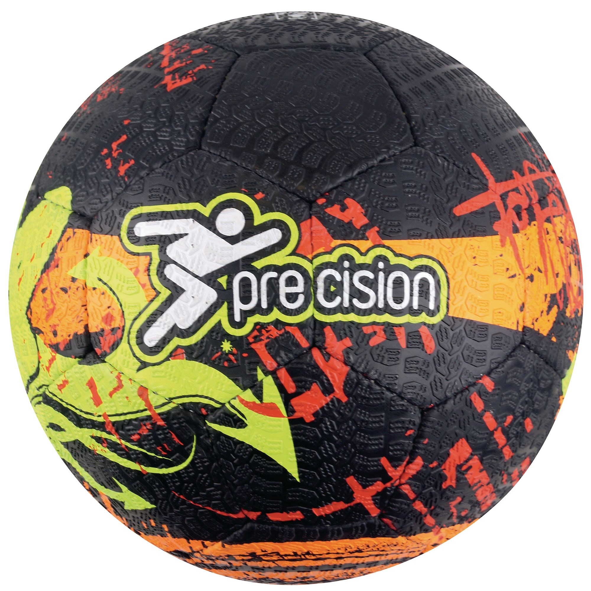 Precision Street Mania Ball - Size 5 - Fluo Yellow/Black