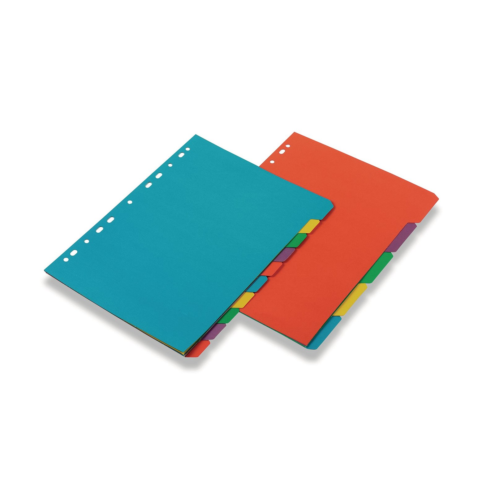 Classmates Punched Pocket A4 Clear Pack of 100 & Karnival A4 Index Dividers 10-part Europunched Pack of 5