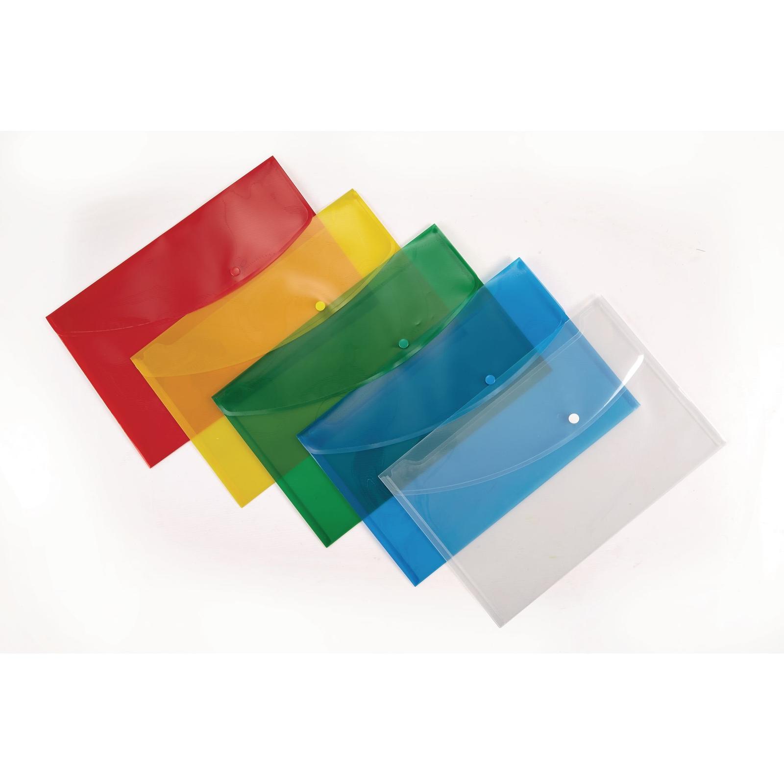 Classmates Popper Wallet Foolscap Assorted - Pack of 5