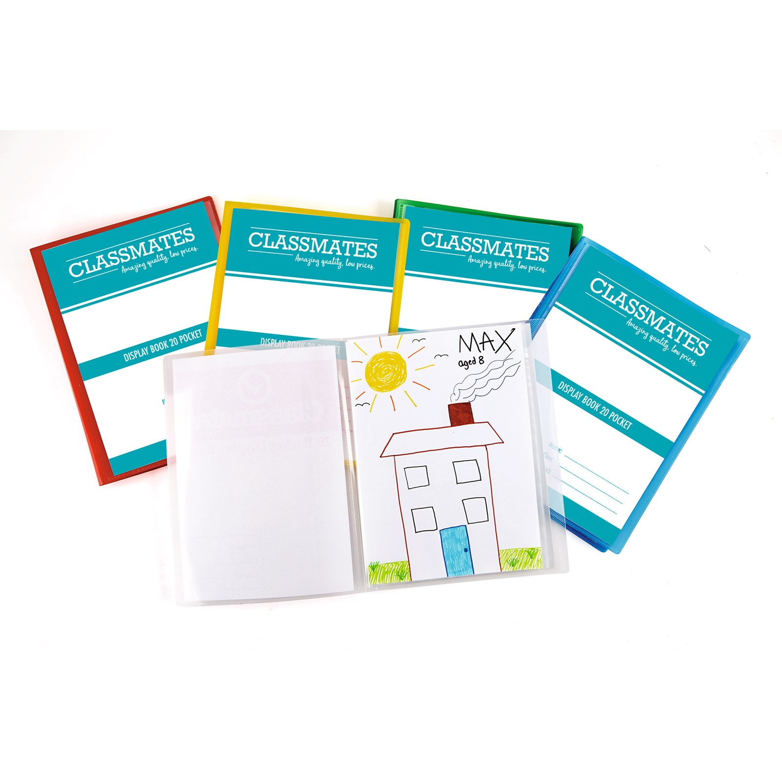 Clmates Display Book A4 Orted Pack Of 5 Five