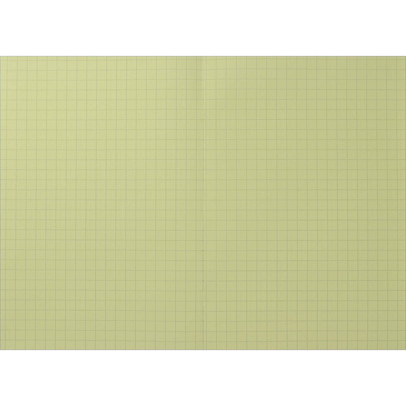 Yellow A4 Rhino Exercise Book 48-Page, 10mm Squared - Pack of 10
