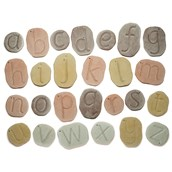 Feels Write Letter Stones - 26 Letter Stones