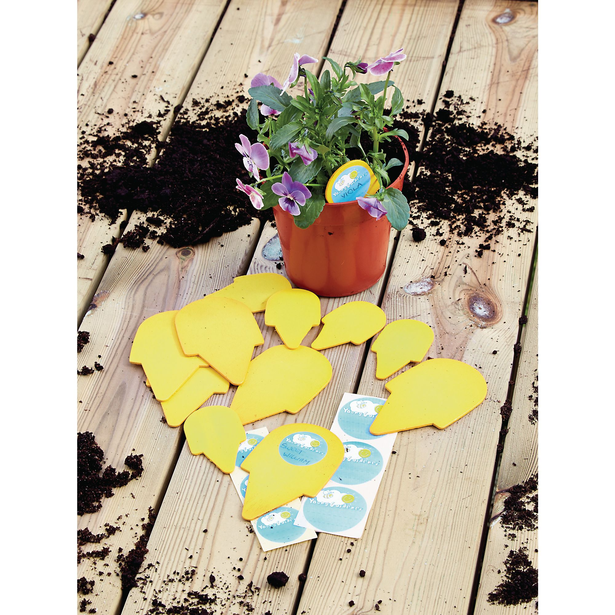 Wooden Seed Tags and Labels