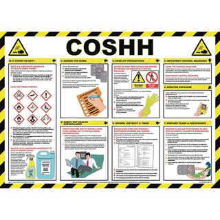 Coshh Poster Gls Educational Supplies