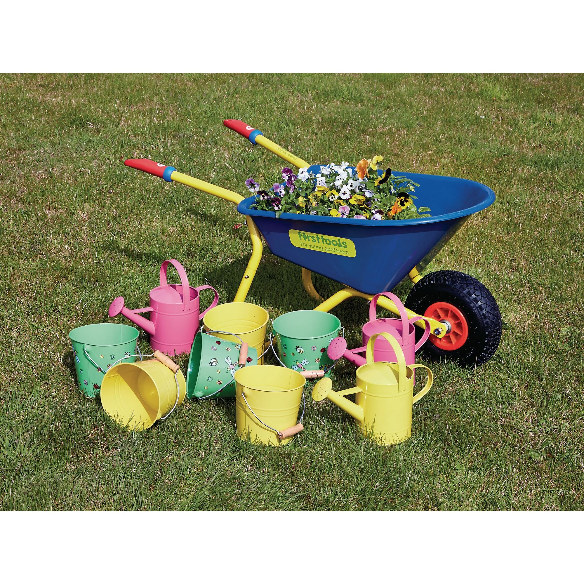 First Tools Wheelbarrow