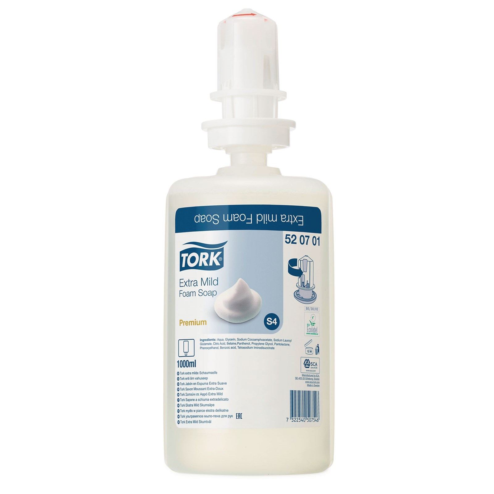 Extra Mild Foam Soap