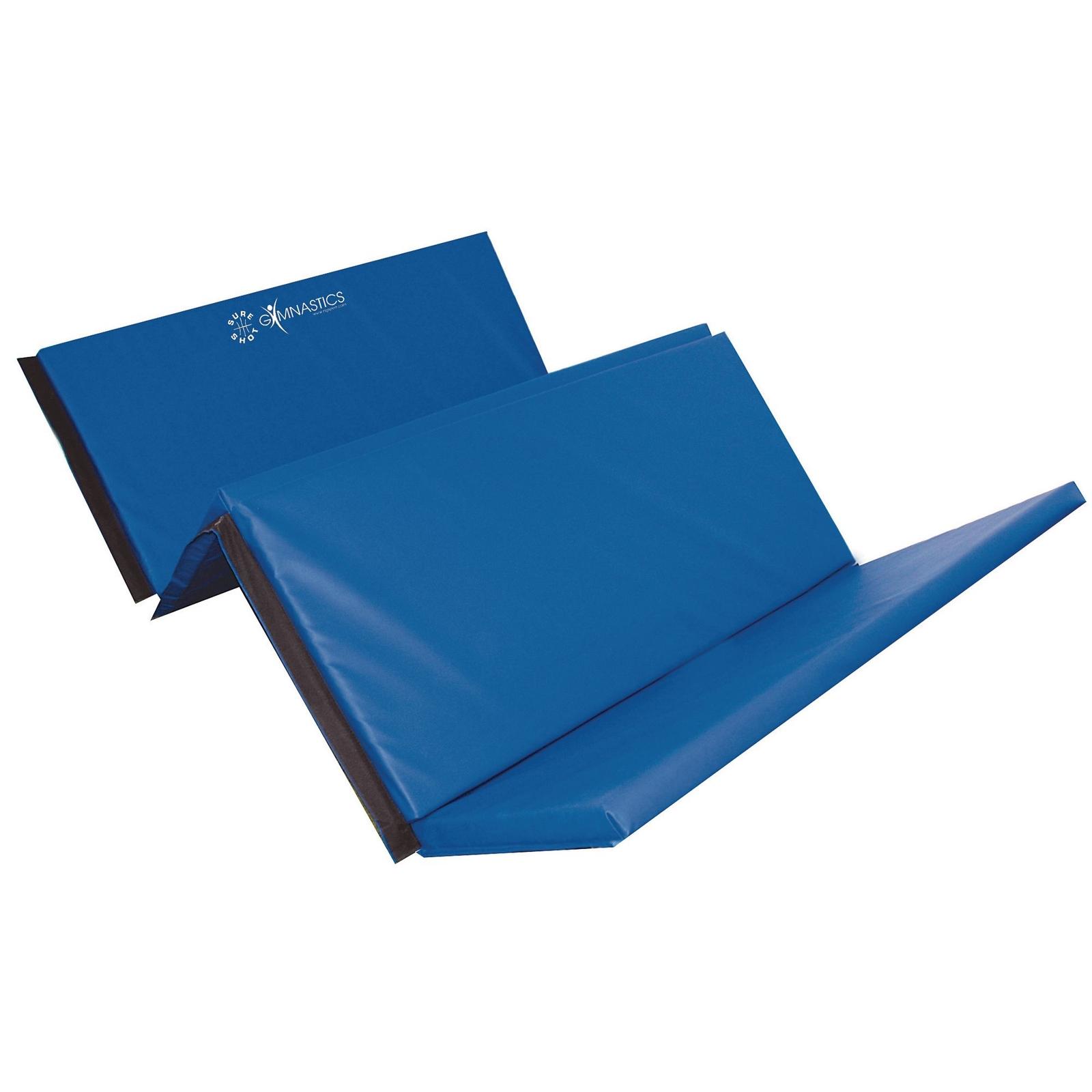 Gym Mats At Sports Direct: 50mm Blue Gym Mat - 2.4x1.2m