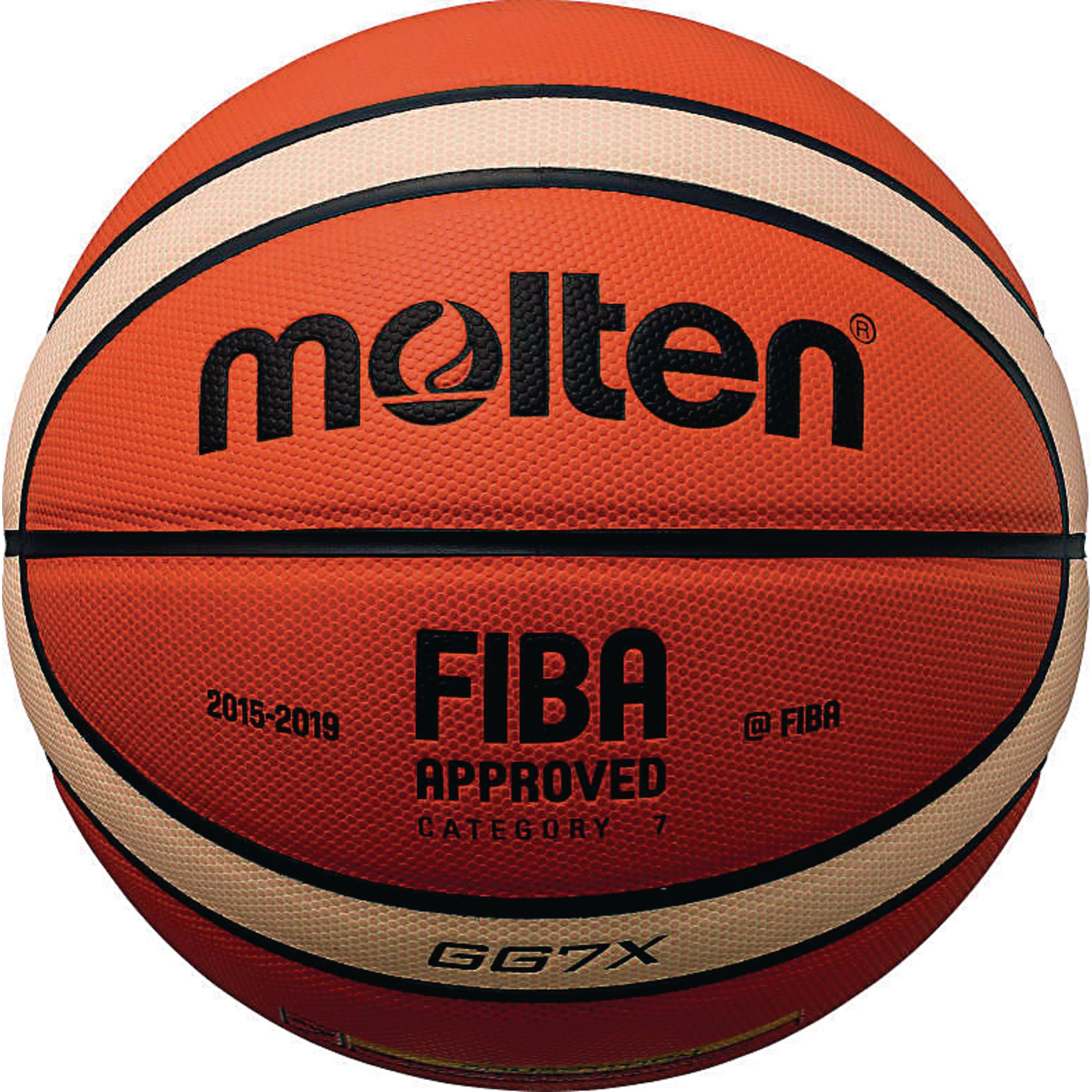Bgroi Fiba Approved Trainingdrill 12 Panel Balls Well-Educated Molten Bgr-oi Rubber Basketball 3