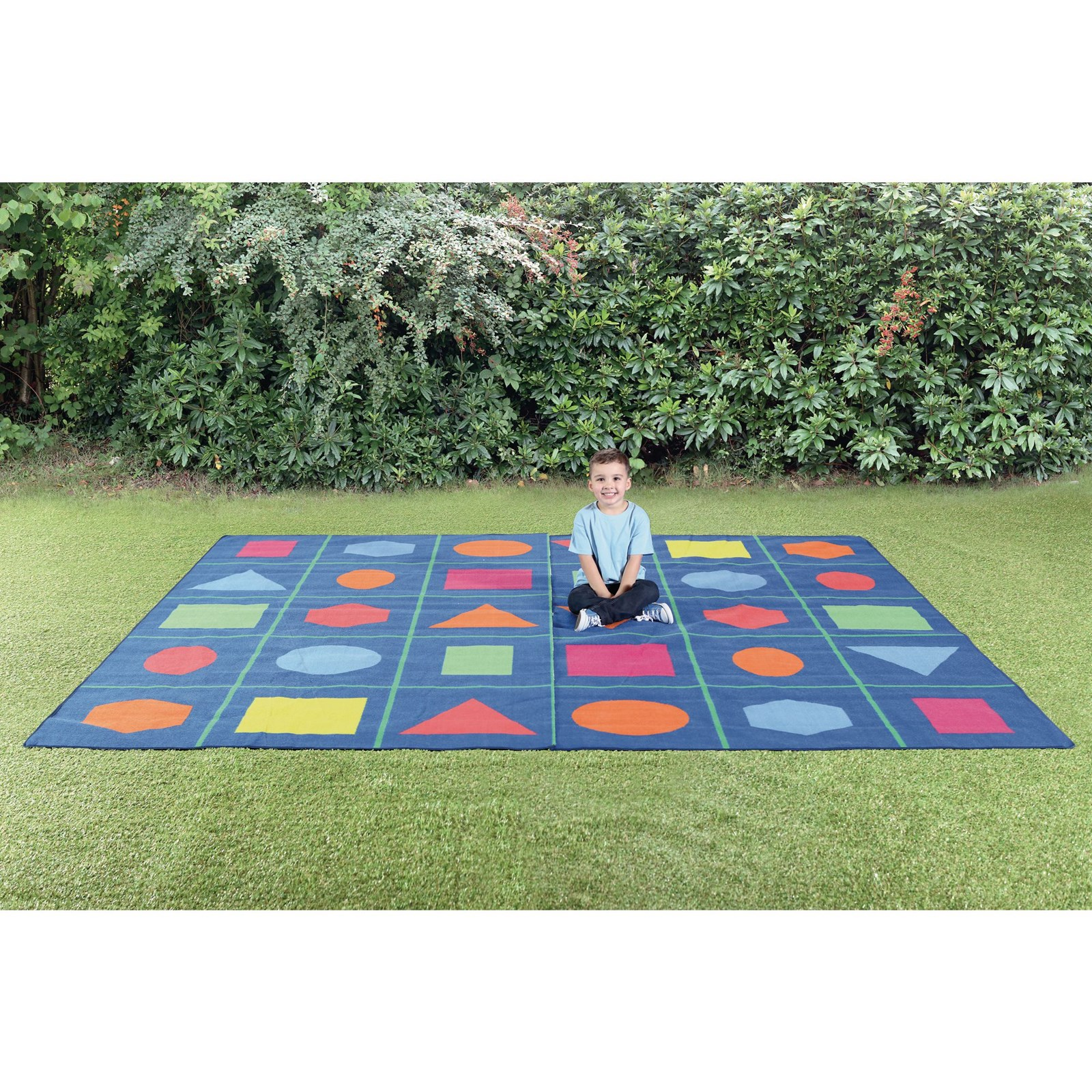 Geo Shapes Outdoor Mat Hope Education