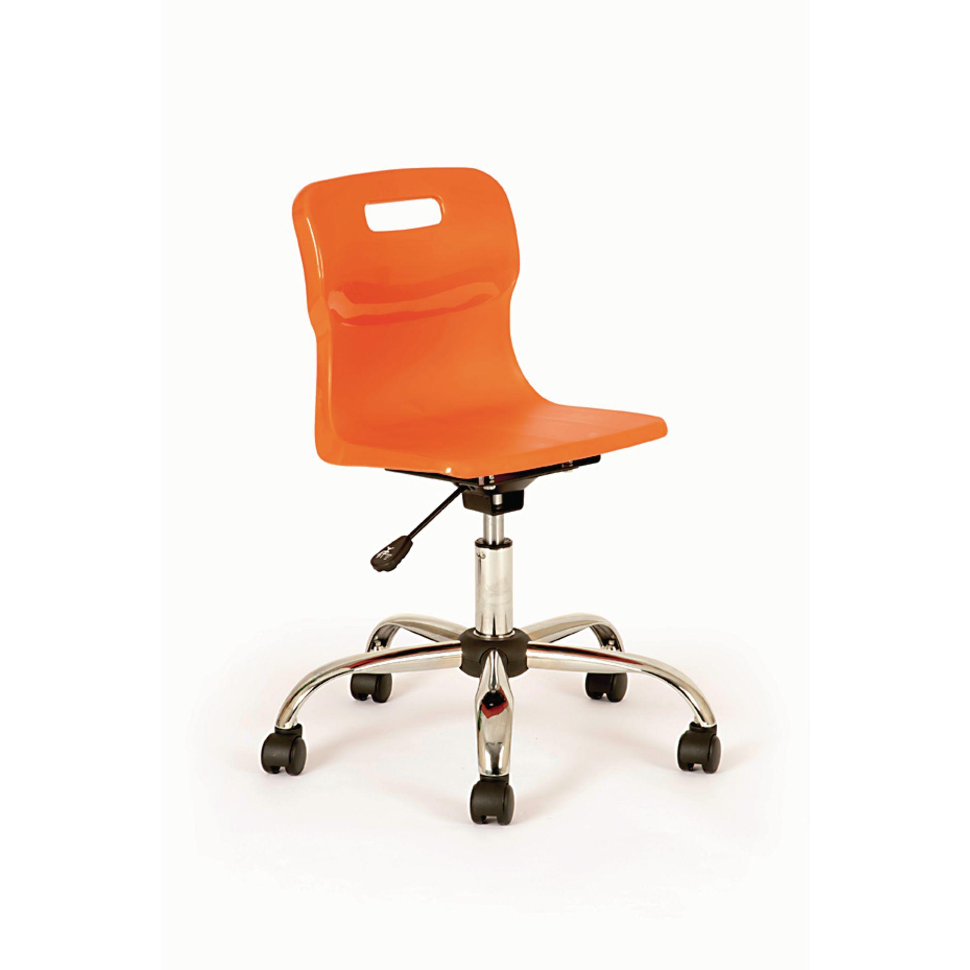 Titan Swivel Chairs Senior Castors Chair